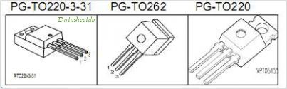 SPI08N80C3 pinout,Pin out