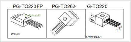 SPI12N50C3 pinout,Pin out