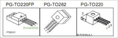 SPI16N50C3 pinout,Pin out