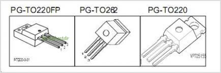 SPI20N60C3 pinout,Pin out