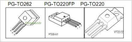 SPI20N65C3 pinout,Pin out
