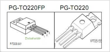 SPP03N60C3 pinout,Pin out