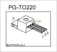 SPP03N60S5 pinout,Pin out