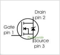 SPP04N80C3 pinout,Pin out