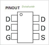 ZXMN2A01E6TA pinout,Pin out