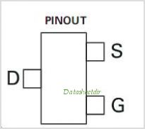 ZXMN2A01F pinout,Pin out