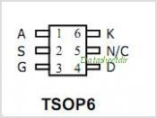 AO6701 pinout,Pin out