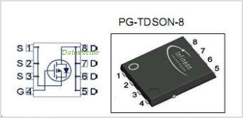 BSC080P03LSG pinout,Pin out