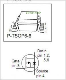 BSL207SP pinout,Pin out
