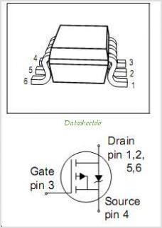 BSL307SP pinout,Pin out