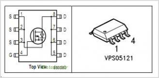 BSO203SP pinout,Pin out