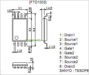 FTD1003 pinout,Pin out