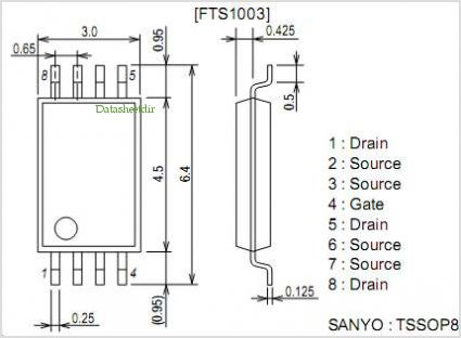 FTS1003 pinout,Pin out
