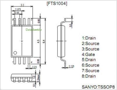 FTS1004 pinout,Pin out