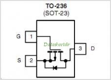 SI2309DS pinout,Pin out