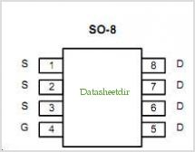 SI4413DY pinout,Pin out