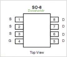 SI4803DY pinout,Pin out