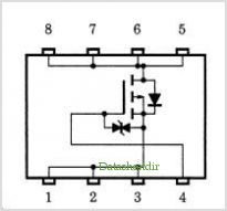 TPC8106-H pinout,Pin out