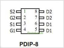 AOP608 pinout,Pin out