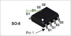 FDS4885C pinout,Pin out