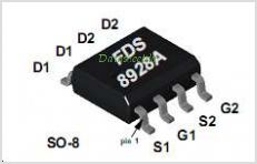 FDS8928A pinout,Pin out