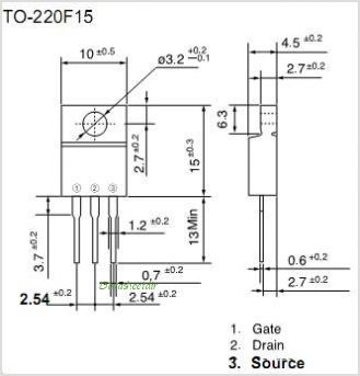 2SK1085-MR pinout,Pin out
