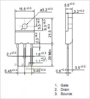 2SK1390-R pinout,Pin out