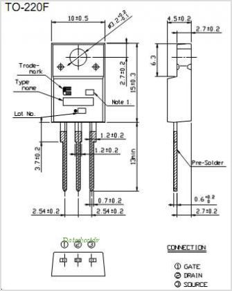 2SK3520-01MR pinout,Pin out