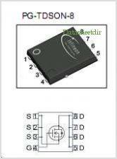 BSC029N025S pinout,Pin out