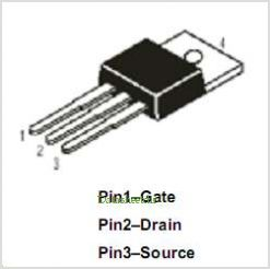 DMFP14N10 pinout,Pin out