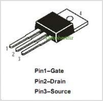 DMFP18N20N pinout,Pin out