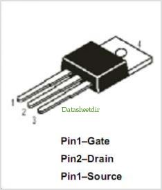 DMFP2N80 pinout,Pin out