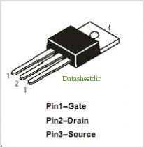 DMFP7N60 pinout,Pin out
