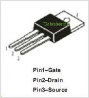 DMFP8N25 pinout,Pin out