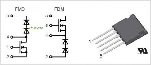 FMD21-05QC pinout,Pin out