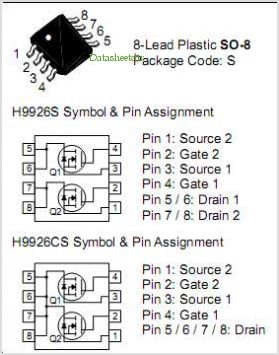 H9926S pinout,Pin out