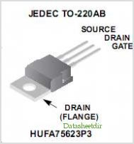 HUFA75623P3 pinout,Pin out
