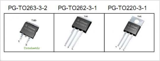 IPB120N06S4-H1 pinout,Pin out