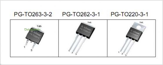 IPB80N06S4L-05 pinout,Pin out
