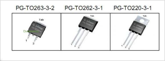 IPB90N06S4L-04 pinout,Pin out