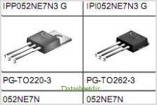 IPP052NE7N3G pinout,Pin out
