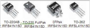 IRFB41N15D pinout,Pin out