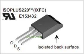 IXFR30N60P pinout,Pin out
