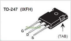 IXFH12N80P pinout,Pin out