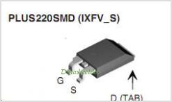 IXFH15N100P pinout,Pin out