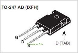 IXFH18N60P pinout,Pin out