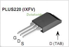 IXFH30N60P pinout,Pin out
