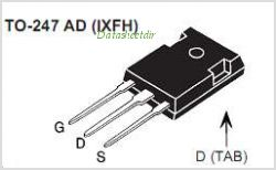 IXFH36N50P pinout,Pin out