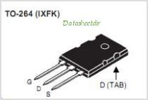IXFK140N30P pinout,Pin out