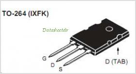 IXFK200N10P pinout,Pin out